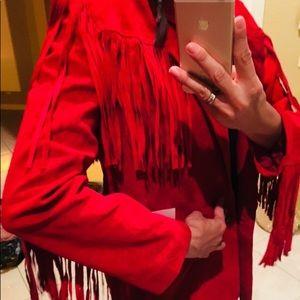 Fridges leather jacket